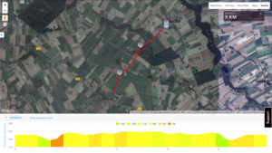 MTB Triathlon Brzuze - trasa biegowa