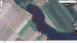 MTB Triathlon Brzuze - trasa pływacka